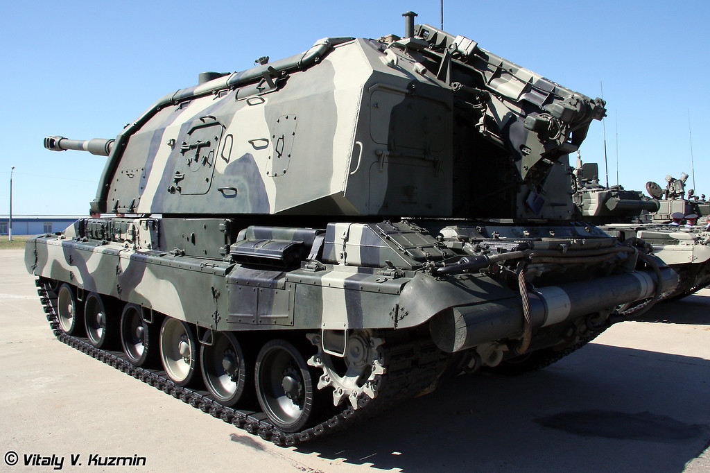 САУ 2С19М1 Мста-С (Self-propelled howitzer 2S19M1 Msta-S)