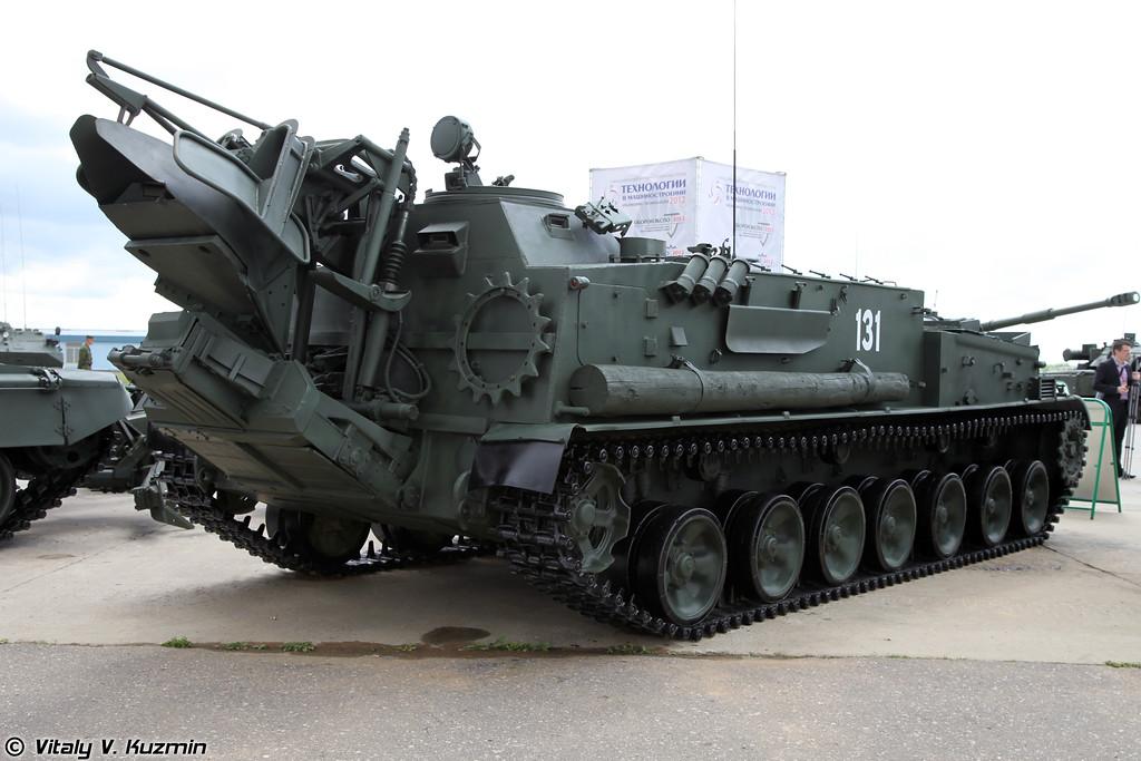 Гусеничный минный заградитель ГМЗ-3 (GMZ-3 minelayer)