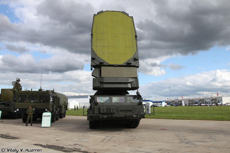 С-300В РЛС 9С19М2 Имбирь (S-300V 9S19M2 Imbir acquisition radar)