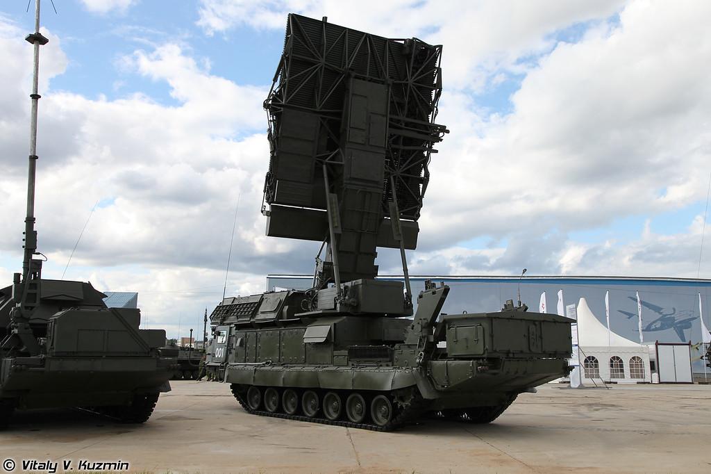 С-300В РЛС кругового обзора 9С15М Обзор-3 (S-300V 9S15M Obzor-3 acquisition radar)