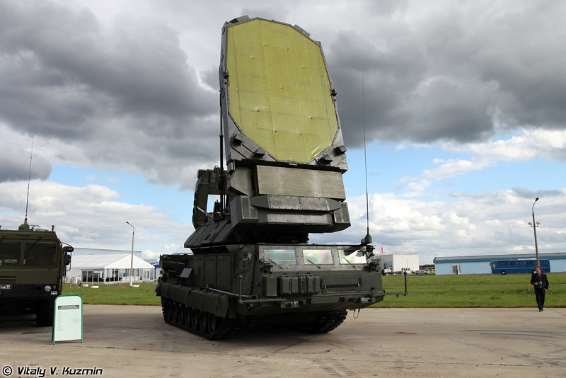 С-300В РЛС 9С19М2 Имбирь (S-300V 9S19M2 Imbir acquisition radar)