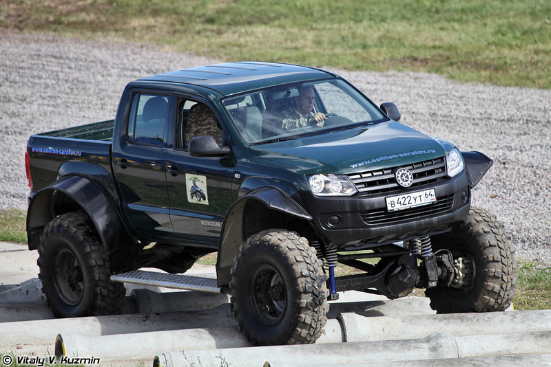 Волкодав-21596 производства НПП Солитон (Volkodav-21596 all-terrain vehicle)