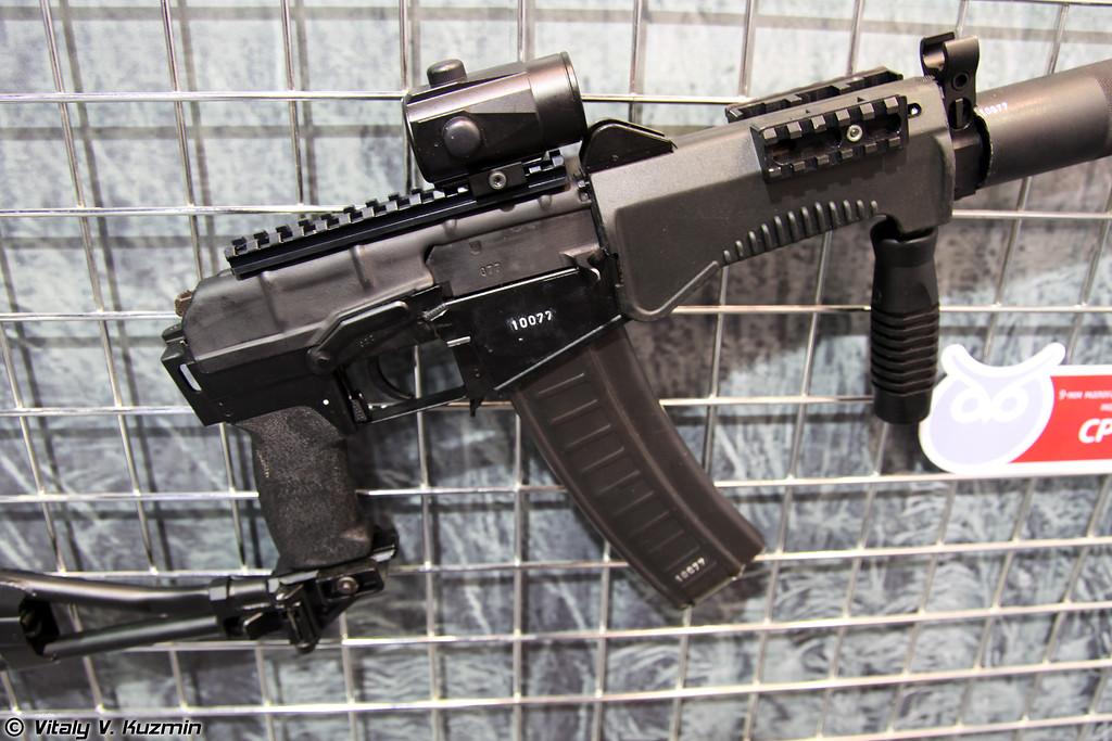 9-мм автомат СР3МП (9mm SR3MP rifle)