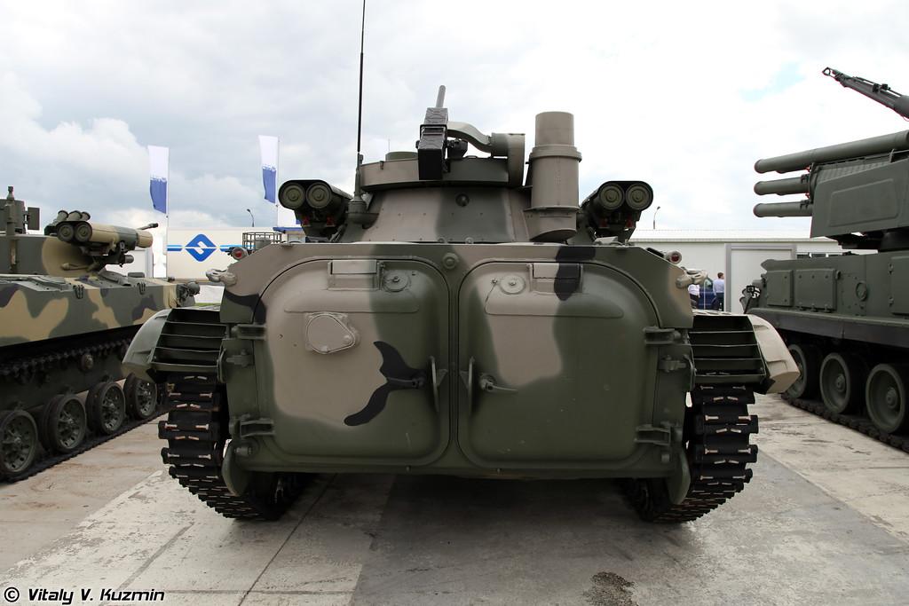 БМП-2 с модернизированным боевым отделением (BMP-2 with upgraded fighting compartment)
