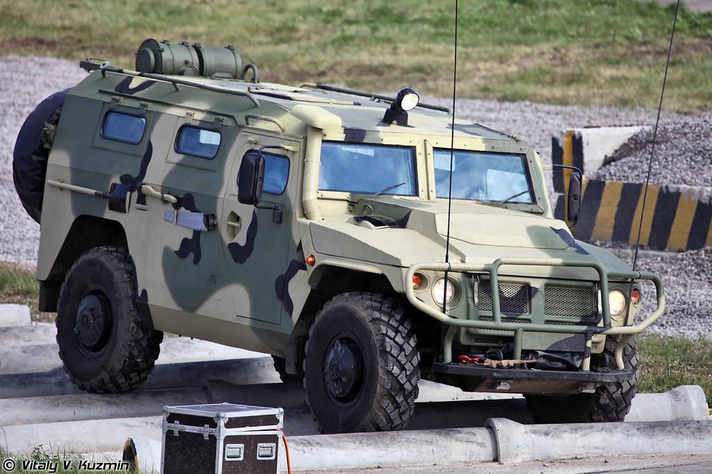 Бронеавтомобиль ВПК-233114 Тигр-М (VPK-233114 Tigr-M armoured vehicle)