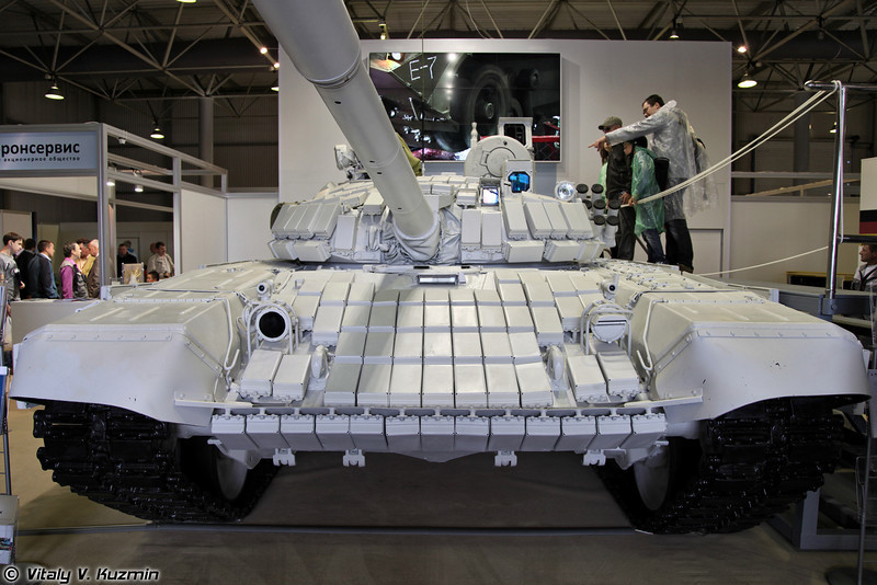 Танк Т-72Б1МС Белый орел (Upgraded T-72B1MS White eagle)