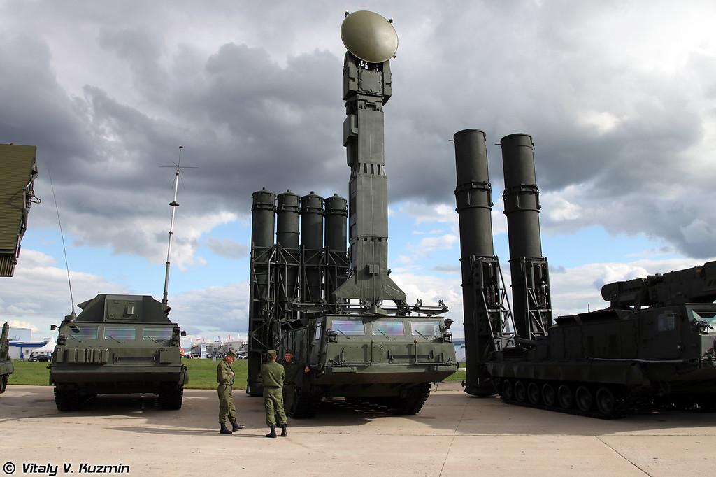 С-300В Пусковая установка 9А83 (S-300V 9A83 TELAR)