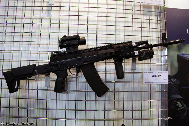 5.45-мм автомат АК-12 (5.45mm AK-12 rifle)