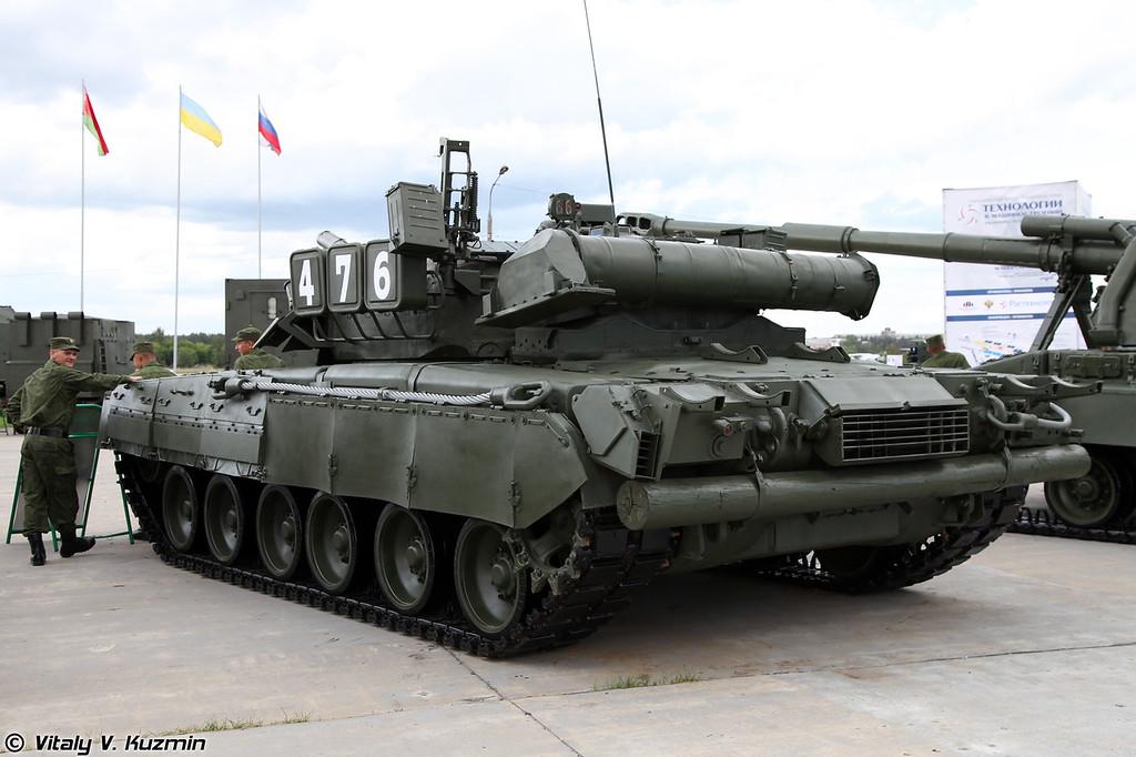 Основной боевой танк Т-80У (T-80U MBT)