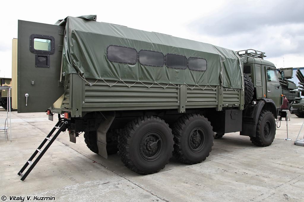 Специальный бронированный автомобиль СБА-60 на базе КАМАЗ-5350 (SBA-60 armored vehicle on KAMAZ-5350 base)