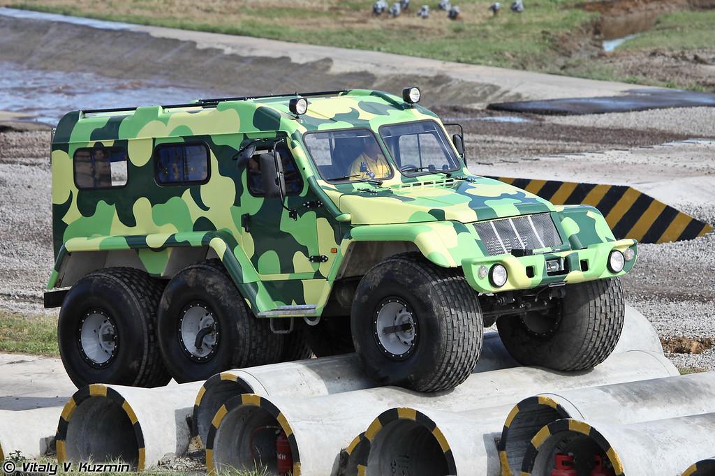 Вездеход ТРЭКОЛ 39294 (Trekol 39294 all-terrain vehicle)