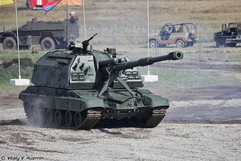 САУ 2С19 Мста-С (2S19 Msta-S SPH)