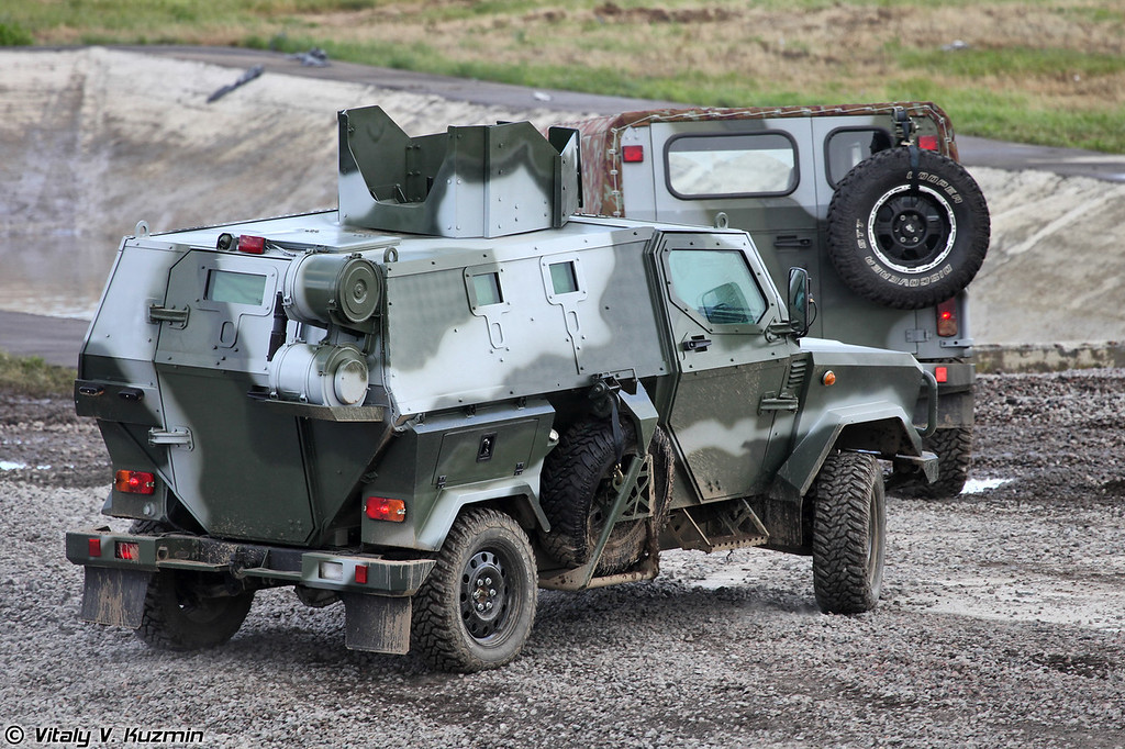 Бронеавтомобиль Скорпион ЛША Б (Skorpion LShA B armoured vehicle)