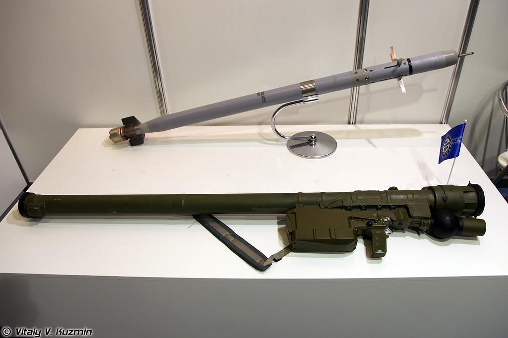 Переносной зенитный ракетный комплекс 9К338 Игла-C (9K338 Igla-S MANPAD)
