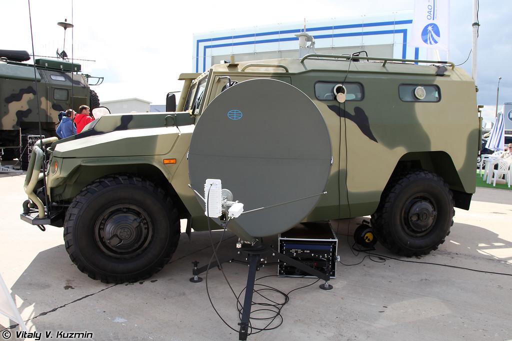 Мобильный комплекс МК–БЛА-01 (UAV system MK-BLA-01)