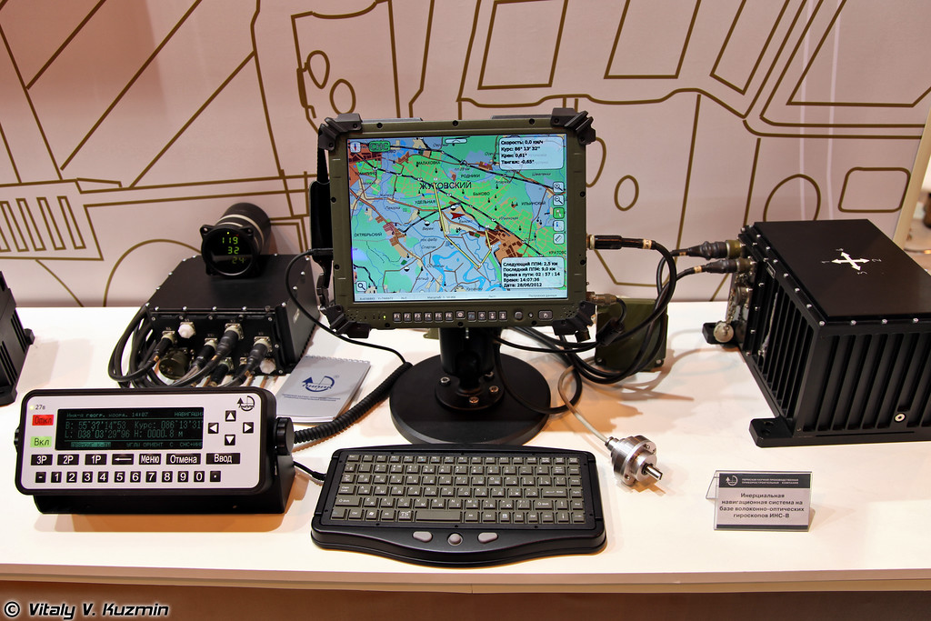Инерциальная навигационная система ИНС-В на базе волоконно-оптических гироскопов (INS-V navigation system)
