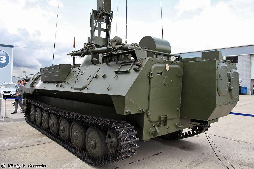 Модуль планирования 9С931 из состава Комплекта средств автоматизации Барнаул-Т (9S931 planning module for Barnaul-T air defence command system)