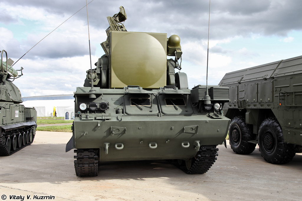 Боевая машина 9А331 ЗРК Тор-М1 (Combat vehicle 9A331 for Tor-M1 air defence system)