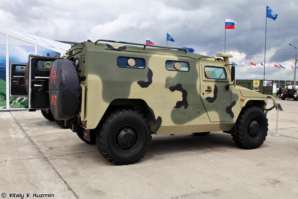 Специальная полицейская машина ГАЗ-233036 СПМ-2 (Special police vehicle GAZ-233036 SPM-2)