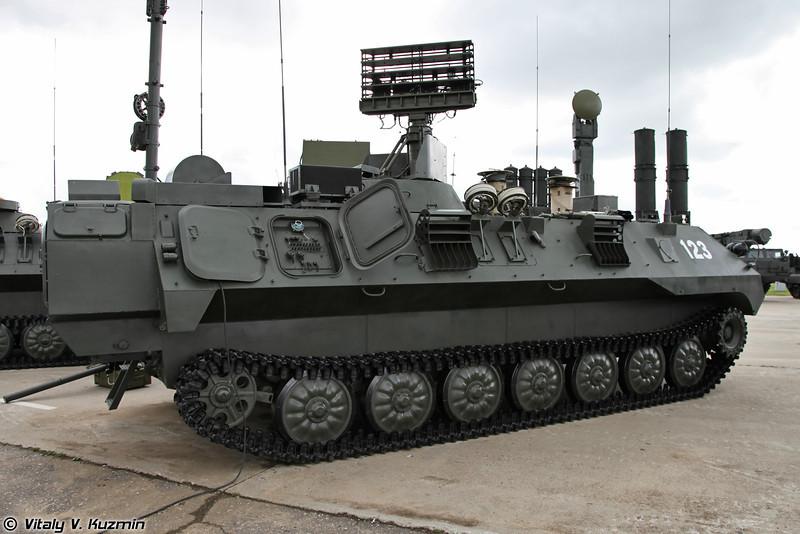 Модуль разведки и управления 9C932-1 из состава Комплекта средств автоматизации Барнаул-Т (9S932-1 reconnaissance and command module for Barnaul-T air defence command system)
