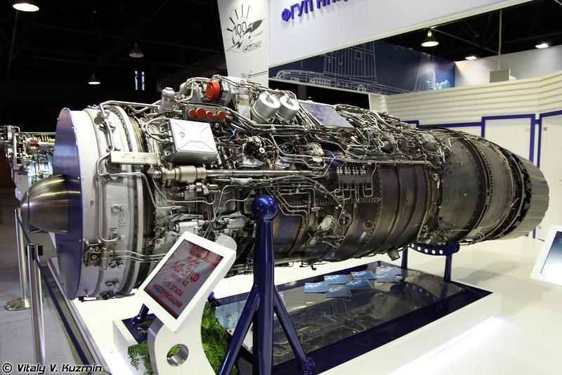 Двигатель АЛ-31Ф серии 42 второго этапа модернизации (AL-31F 42 series 2nd stage of modernization)