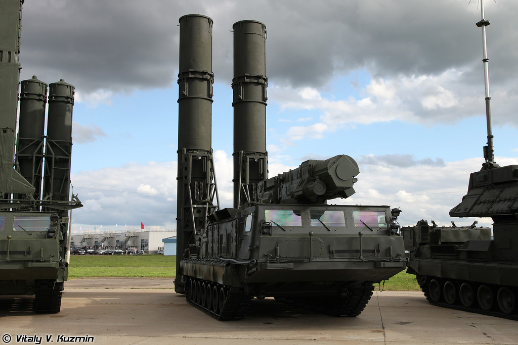 С-300В Пусковая установка 9А82 (S-300V 9A82 TELAR)