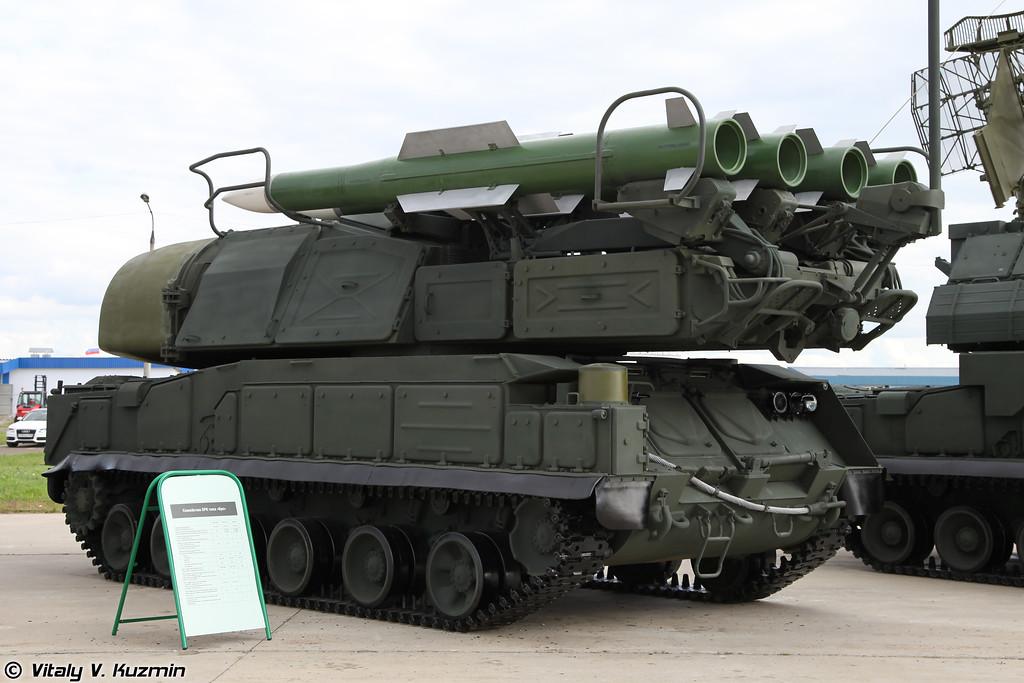 Самоходная огневая установка 9А310М1-2 из состава ЗРК Бук-М1-2 (9A310M1-2 transporter erector launcher and radar for Buk-M1-2 air defence system)