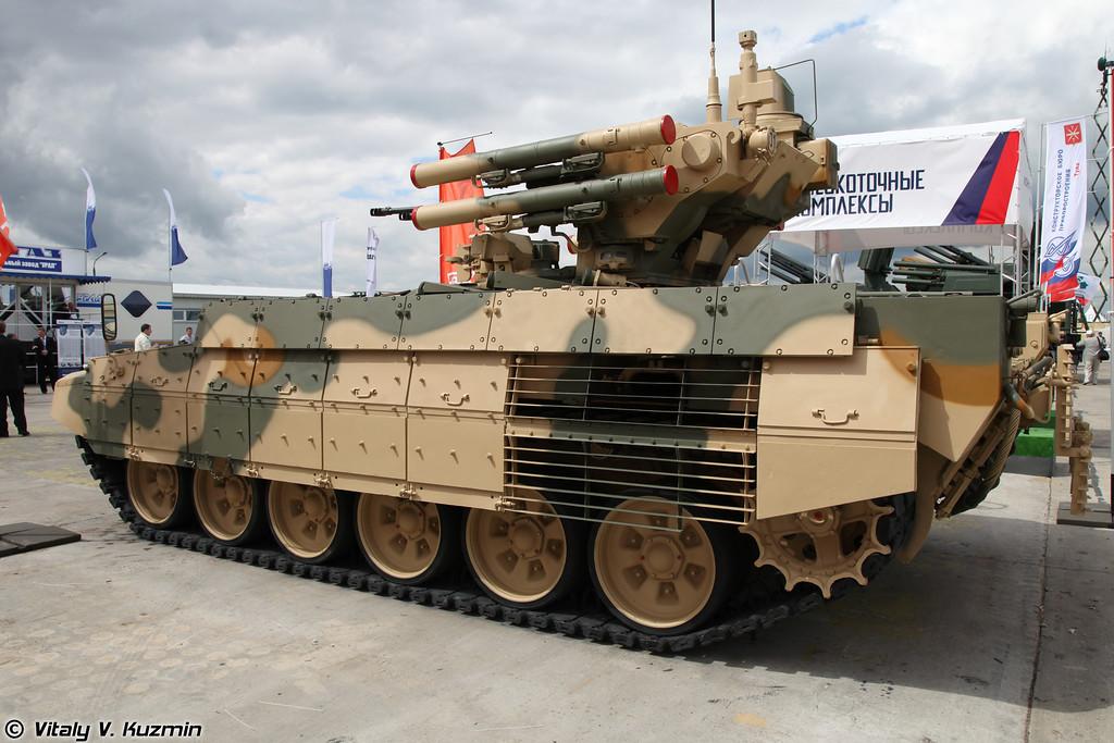 Боевая машина поддержки танков БМПТ (Tank support combat vehicle BMPT)
