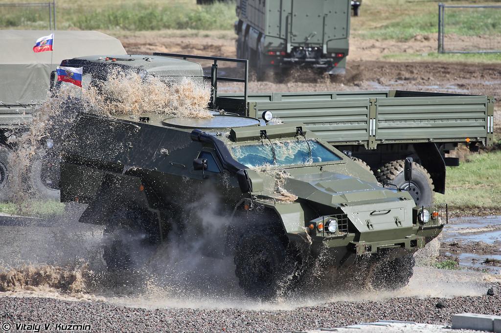 Модернизированный КАМАЗ-43269 Выстрел (Upgraded KAMAZ-43269 Vistrel)