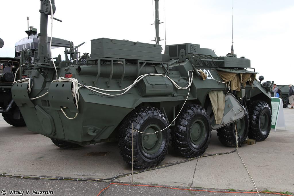Аппаратная МП-2ИМЕ для развертывания сетей передачи данных бригадного уровня (MP-2IME signal vehicle for brigade level)