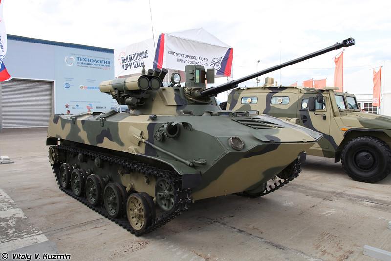 БМД-2 с модернизированным боевым отделением (BMD-2 with upgraded fighting compartment)