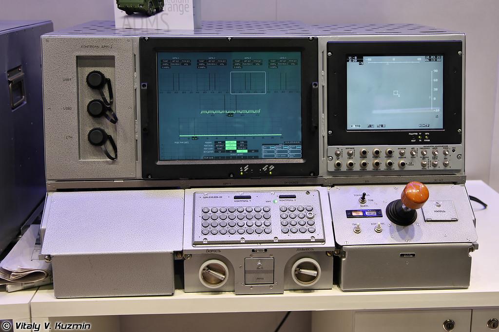Тренажер СОУ 9А317Э ЗРК Бук-М2Э (9A317E TELAR simulator)