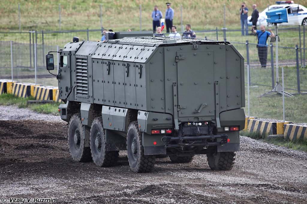 КАМАЗ-63968 Тайфун-К (KAMAZ-63968 Typhoon-K armored vehicle)