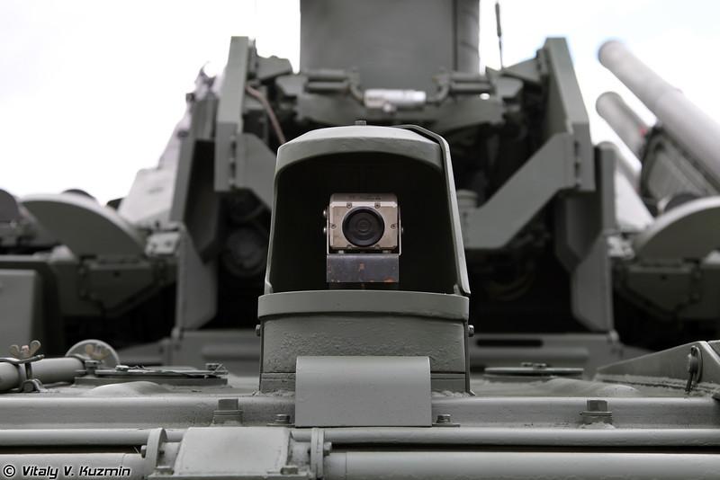 ЗРПК 96К6 Панцирь-С1 на гусеничном шасси (96K6 Pantsir-S1 on tracked chassis)