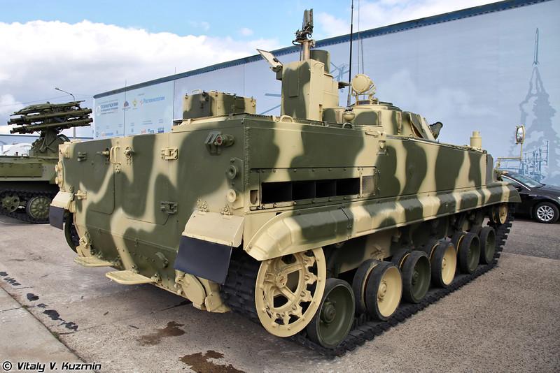Машина управления батареей 9П157-4 ПТРК 9К123 Хризантема-С (Battery command vehicle 9P157-4 for 9K123 Khrizantema-S anti-tank missile system)