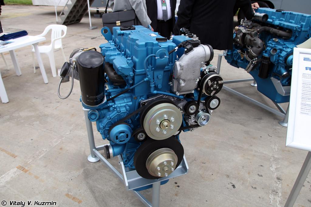 Дизельный двигатель ЯМЗ-5347-10 для ВПК-233114 Тигр-М (Diesel engine YaMZ-5347-10 for Tigr-M)