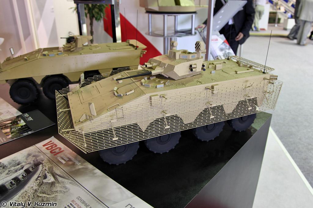 Модель БМП VBCI