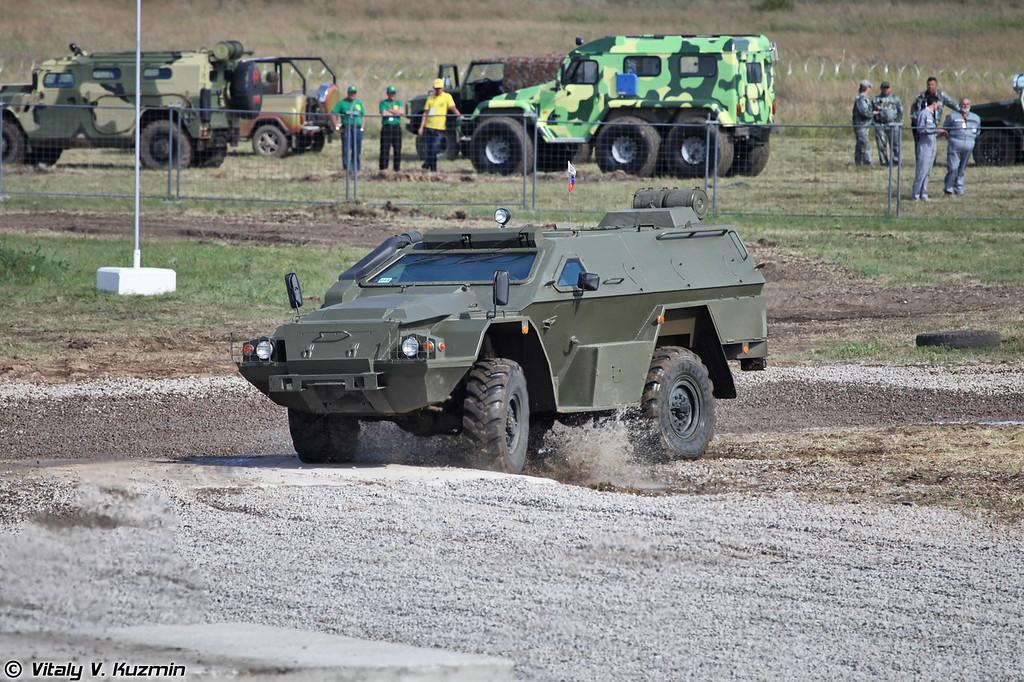 Модернизированный КАМАЗ-43269 Выстрел (Upgraded KAMAZ-43269 Vystrel)
