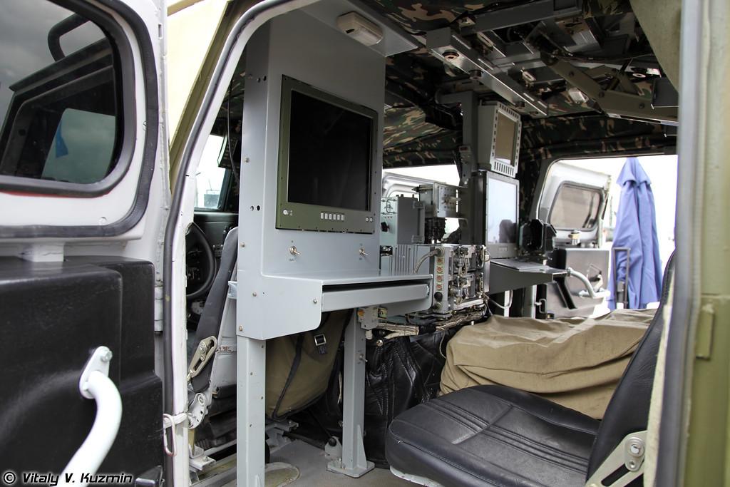 Служебно-боевая разведывательная машина СБРМ (Service combat surveillance vehicle SBRM)