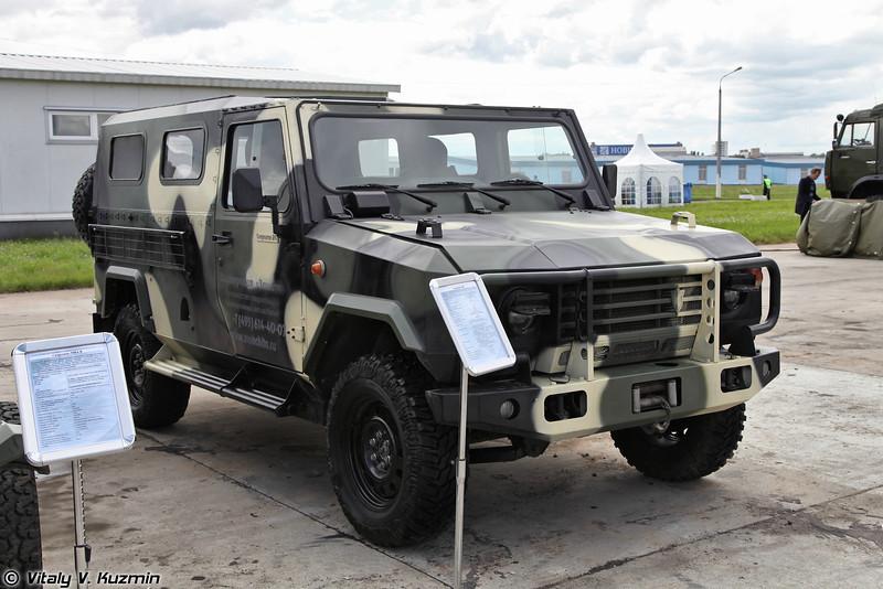 Специальный автомобиль повышенной проходимости Скорпион-2М (Skorpion-2M light tactical vehicle)