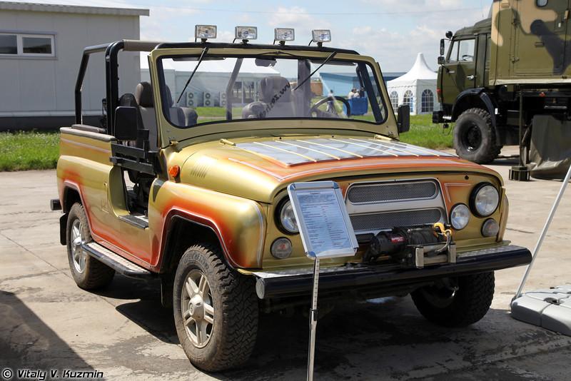Специальный автомобиль повышенной проходимости Скорпион-1 (Skorpion-1 special all-terrain vehicle)