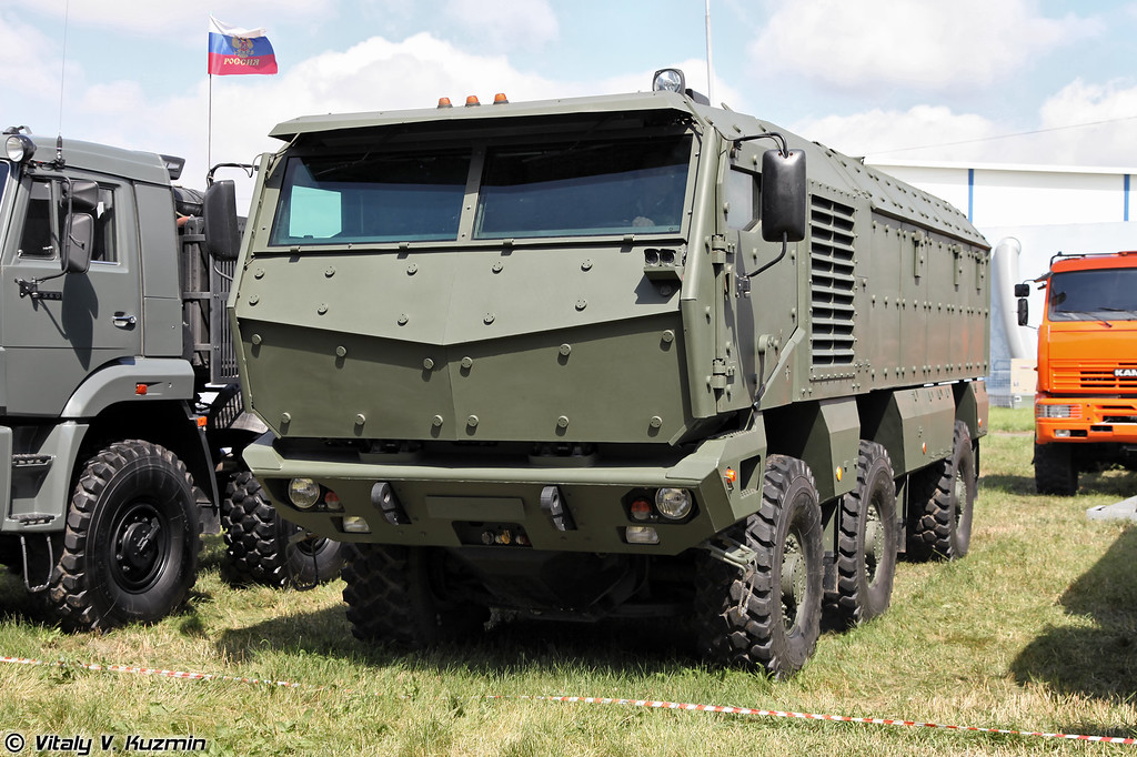 КАМАЗ-63968 Тайфун-К (KAMAZ-63968-K Typhoon armored vehicle)