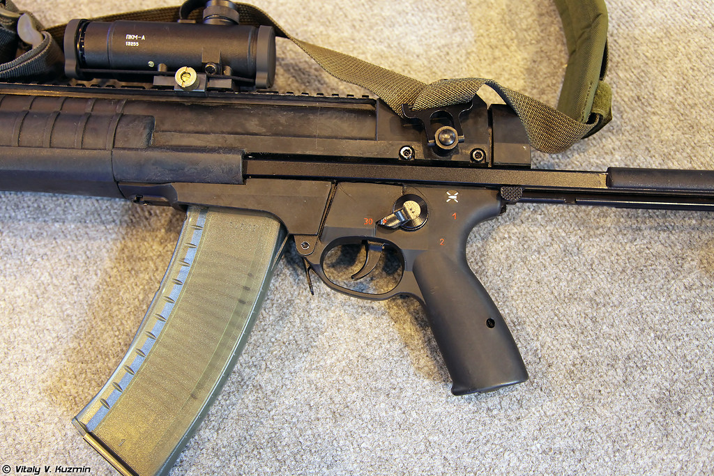 5,45-мм автомат А-545 (5.45mm assault rifle A-545)