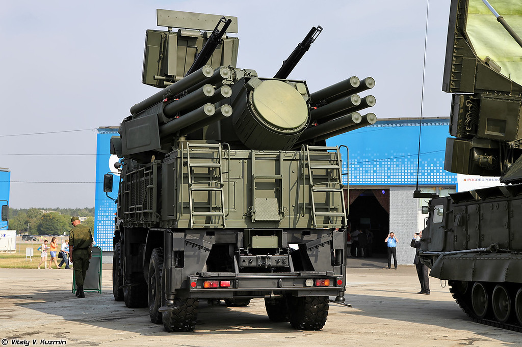 ЗРПК Панцирь С-1 (Pantsir-S1)