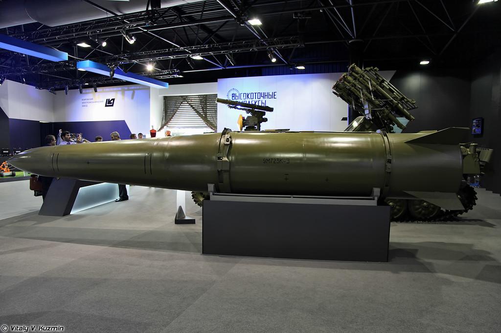 Ракета 9М723К-Э для ОТРК Искандер-Э (9M723K-E missile for Iskander-E system)