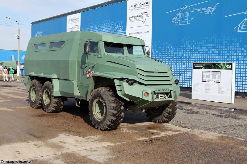 Бронеавтомобиль Колун (Kolun armored vehicle)