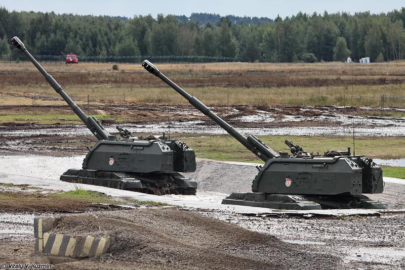 САУ 2С19М1 Мста-С (2S19M1 Msta-S)