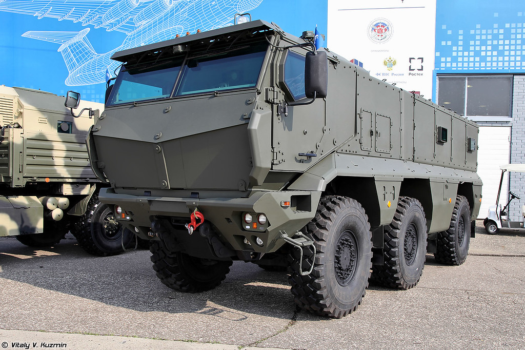 Бронеавтомобиль КАМАЗ-63968 Тайфун-К (KAMAZ-63968 Typhoon-K armored vehicle)
