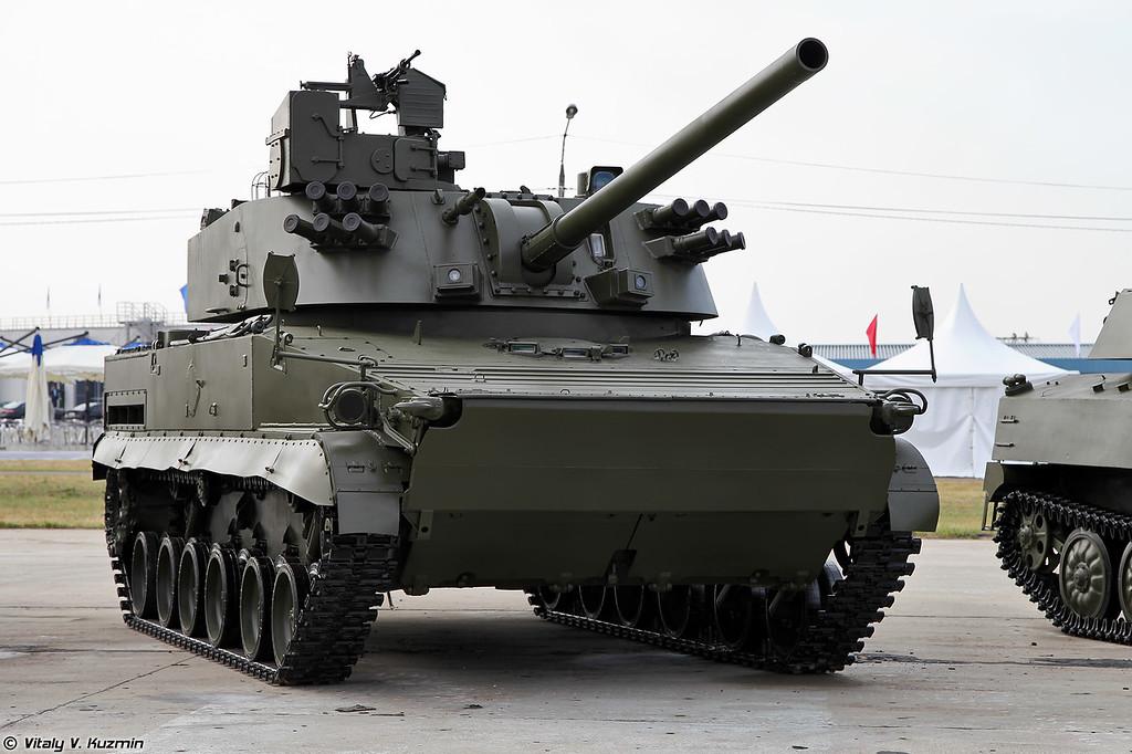 Самоходное артиллерийское орудие 2С31 Вена (2S31 Vena)