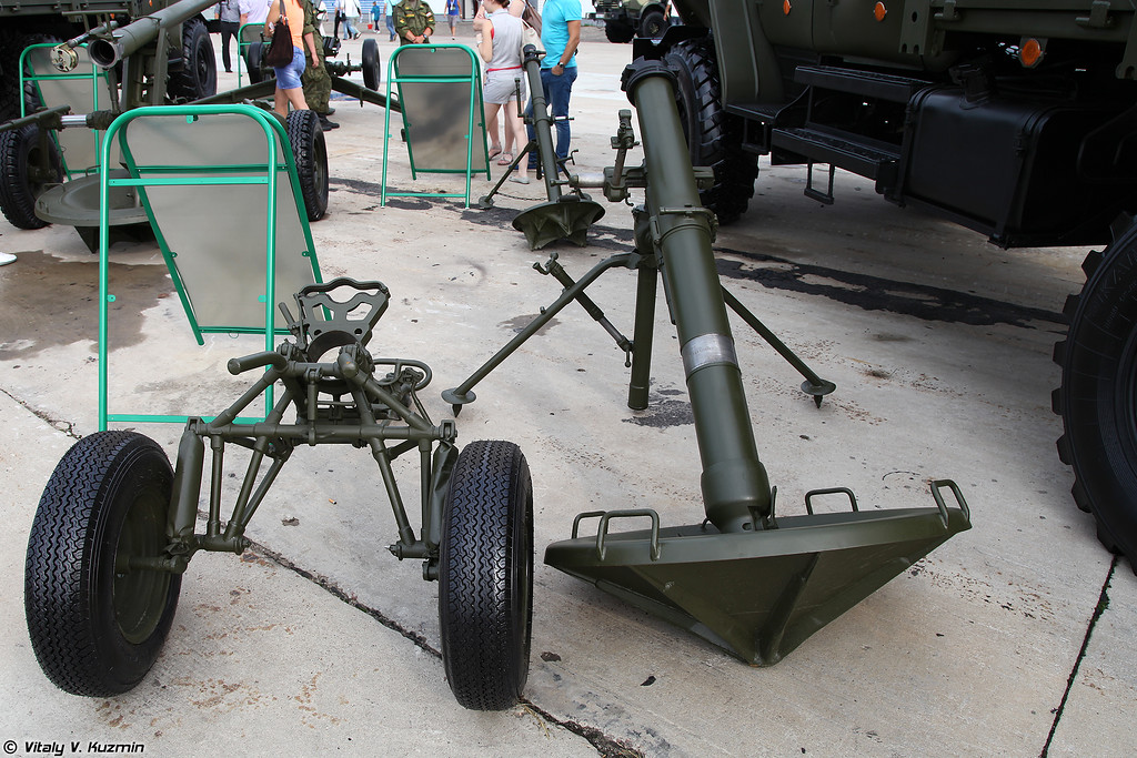 120-мм миномет 2С12 Сани (120mm mortar 2S12 Sani)
